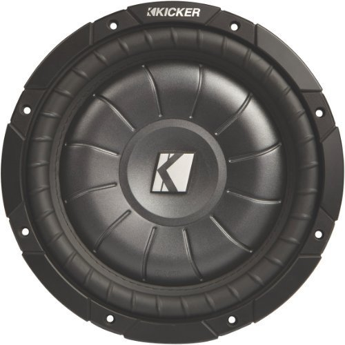 "Kicker CVT124 12"" Single 4 ohm Shallow-Mount CompVT Series C"