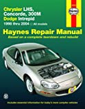 Chrysler LHS,Concorde,300M,Dodge Intrepid, 1998-2004 (Haynes Repair Manual)