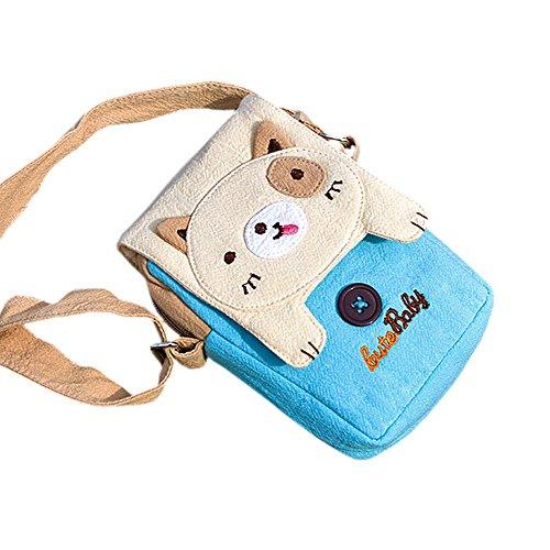 [Beige Dog] Bag Purse (3.9*5.1*1.2) front-997061