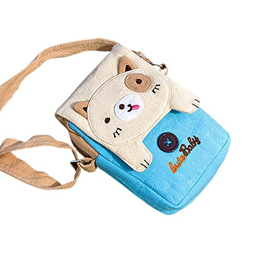 [Beige Dog] Bag Purse (3.9*5.1*1.2)