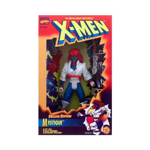 "10"" Deluxe Edition Mystique Action Figure - Marvel Comics Original X-Men"