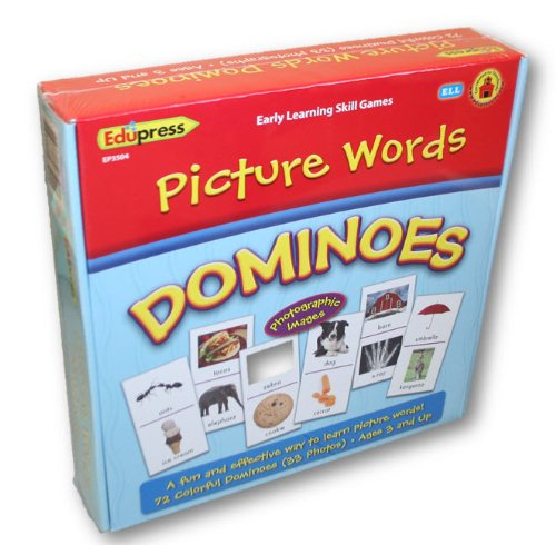 Picture Words Dominoes - 1