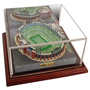 NFL 4750 Limited Edition Gold Series Replica of Lambeau Field Green Bay Packers by Sports Collector