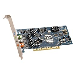 Creative Sound Blaster X-Fi Xtreme Audio PCI Sound Card