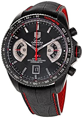 TAG Heuer Men's CAV518B.FC6237 Grand Carrera Automatic Chronograph Watch