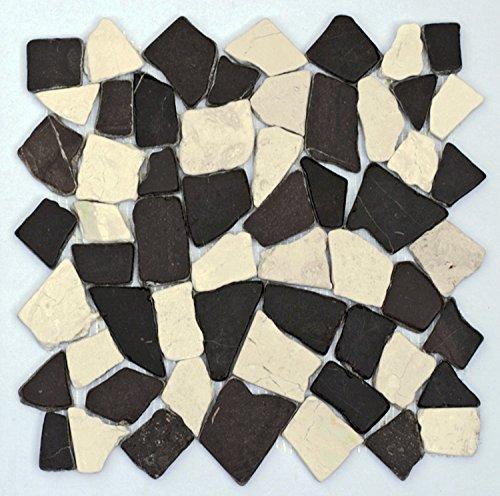 m 006 bruchstein marmor mosaik fliesen naturstein. Black Bedroom Furniture Sets. Home Design Ideas