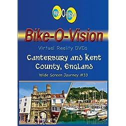 Bike-O-Vision Cycling Journey- Canterbury & Kent County, England (DVD #33)