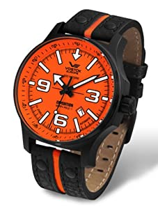 Vostok-Europe Men's NH35A/5654197 Japanese Automatic Quick Set Date Watch
