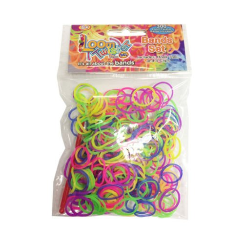 Loom Bands Bunte Kit - Armband DIY Kit - Glow In The Dark