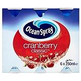 Ocean Spray Cranberry Classic Juice Drink 4x6x250ml