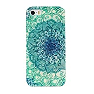 Iphone 5 5s Protecive shell TOOPOOT® Floral Pattern Flip Stand TPU Back Case For iPhone5 5s