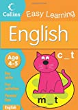 Collins Easy Learning English: Age 4-5 (Collins Easy Learning Age 3-5)