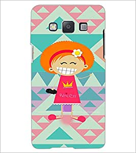 PrintDhaba Cartoon D-3607 Back Case Cover for SAMSUNG GALAXY A5 (Multi-Coloured)