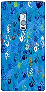 Snoogg Don'T Touch My Phone Designer Protective Back Case Cover For One Plus Two