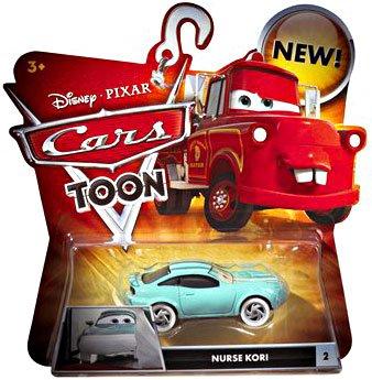 Disney/Pixar Cars, Toon Die-Cast Vehicle, Nurse Kori #2, 1:55 Scale - 1