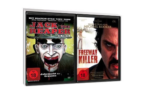 FSK 18 Spar-Set 2 DVDs Serienkiller : Jack The Reaper Uncut + Freeway Killer
