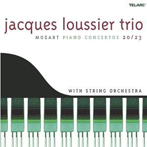 Jacques Loussier Trio: Mozart Piano Concertos 20/23