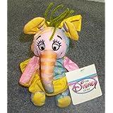 "Disney Winnie The Pooh Heffalump Elephant #4 8"" Plush Bean Bag Doll"