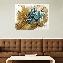 My Wonderful Walls Celestial Woman Fantasy Art Wall Decal Deliver by Karina Llergo Salto (M)