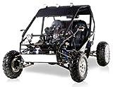 BMS Power Buggy 250 BLACK Gas 4 Stroke 244cc Recreational Buggy Go Kart thumbnail