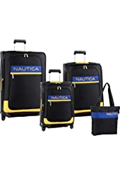 Nautica Luggage Rhumb Line 4 Piece Luggage Set