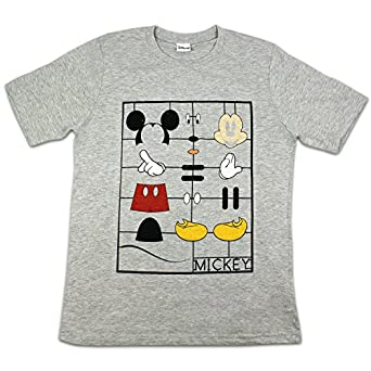 Disney Mickey Mouse T-shirt Hommes | Tailles Petite