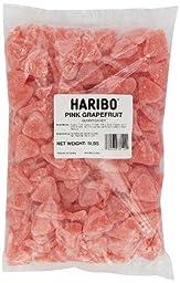 Haribo Gummi Candy, Pink Grapefruit, 5-Pound Bag