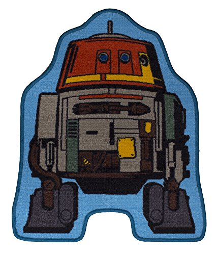 [Star Wars Rebels Chopper Shaped Rug] (Star Wars Chopper)
