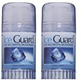 Ice Guard Natural Crystal Deodorant Stick 120gm PACK OF 2