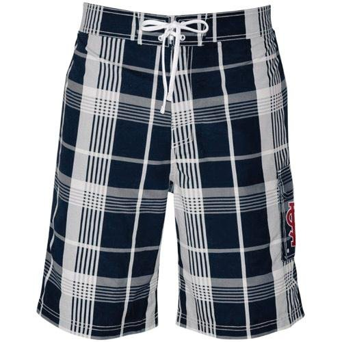MLB St. Louis Cardinals Trophy Swim Trunks - Navy Blue (Large) at Amazon.com