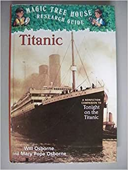 magic tree house tonight on the titanic book report