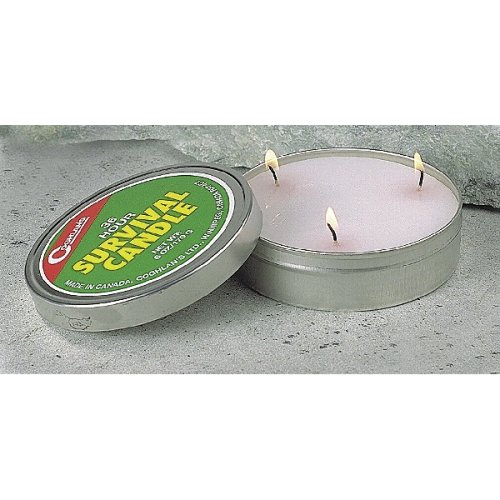 Coghlans 9248 Emergency Survival Candle, 36 Hr