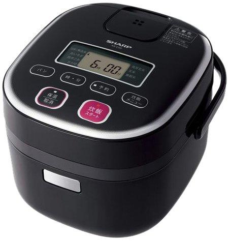 SHARP 電子ジャー炊飯器0.54Lタイプ ブラック系 KS-C5G-B