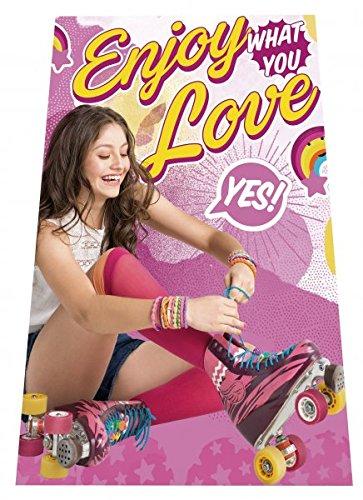 Disney Soy Luna coperta in pile coperta 100x 150cm Enjoy Love