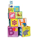 eeBoo Tot Towers Nesting Blocks - Alphabet