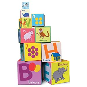 eeBoo tot Tower Alphabet & Numbers