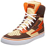 Punkrose Women's Retro-Canvas Hi-Top Sneaker
