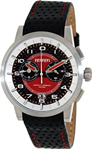 Ferrari Men's FE-11-ACC-CP-FC Granturismo Red Dial Chronograph Swiss Watch