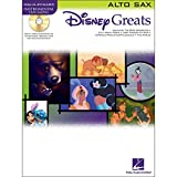 Hal Leonard Disney Greats for Alto Sax Instrumental Play Along Pack Book and CD