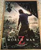 WORLD WAR Z MOVIE POSTER 2 Sided ORIGINAL INTL 27x40 BRAD PITT