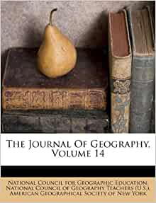 The Journal Of Geography Volume 14 National Council For