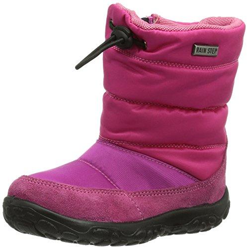 NaturinoNATURINO POZNURR - Pantofole primi passi Bimba 0-24 , (Fuxia (FUXIA)), 22 EU