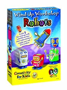 Wind Up Workshop Robots
