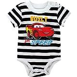 Disney Cars Built for Speed Black/White Infant Bodysuit