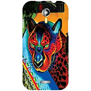 Micromax A117 Canvas Magnus - Animal Matte Finish Phone Cover