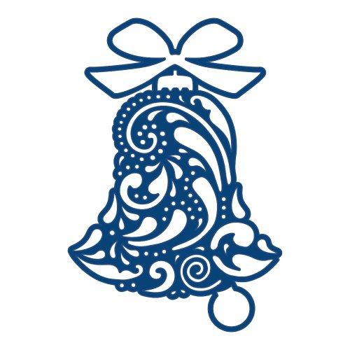 Tattered Lace Dies - Dies découpe gaufrage cloche de paques matrice Tattered Lace