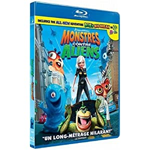Monstres contre Aliens [Blu-ray]