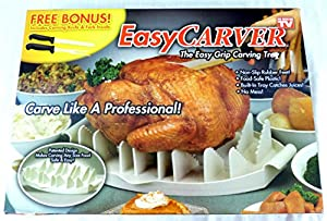 Easy Carver: The Easy Grip Carving Tray