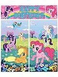 Amscan BB679978 My Little Pony Scene Setter Wall Dec. Kit