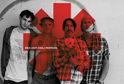 1art1 61658 - Poster dei Red Hot Chili Peppers, motivo: I'm With You, con logo a forma di asterisco, 91 x 61 cm